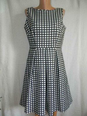 Красивое новое платье в клетку Marks & Spencer14p