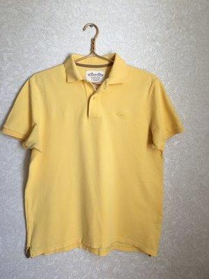Отличная желтая мужская футболка-поло