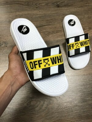 Шлепанцы Off White