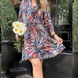 Женское летнее платье ткань софт с принтом скл.1 арт.55658