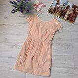 Нежное кружевное платье с открытой спинкой H&M р.S 36