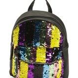 Рюкзак для девочки, средний, пайетки, OMG Accessories