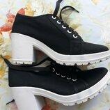 Тканевые ботиночки