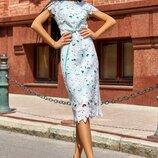 Платье42,44,46,48,50 размеры 3 цвета