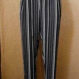 Брюки,штаны летние с боковыми карманами new look размер 10