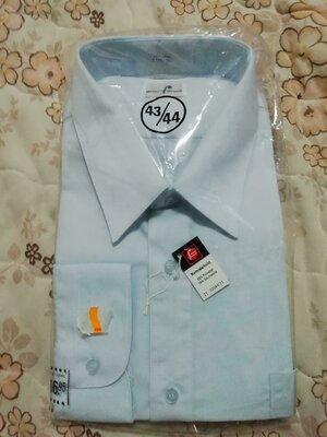 Рубашка мужская unser favorit размер xxl-54-44 ворот 44