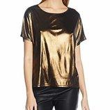 Стильная блуза New Look Cy Metallic Tee, 38 размер