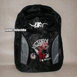 Рюкзак черный принт Баскетбол