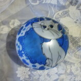 Мяч детский надувной 18 см диаметр