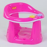 Детское сиденье для купания на присосках BM-01611 PINK BIMBO цвет розовый, в коробке