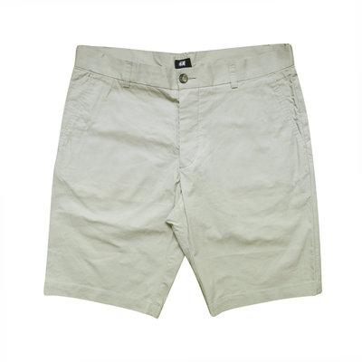 Мужские шорты бежевые тонкие H&M 34 32