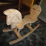 Лошадка-Качалка ручной работы