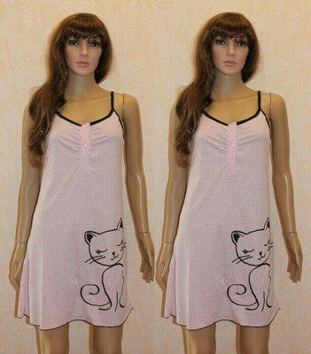 Ночная рубашка Сорочка Ночнушка летняя женская на кнопках для кормления, Хлопок 42-44-46-48-50-52-54