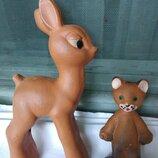 Куклы игрушки Ссср резина редкие Красный Треугольник