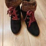 Ботинки Clarks р.6,5 стелька 25,5 см.