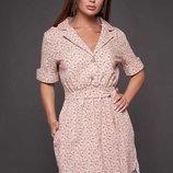 Платье лен, S,M,L,XL