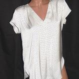 H & M Шикарная блуза в горошек - S - M - L