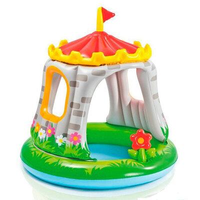 Бассейн надувной Intex 57122 детский с навесом Королевский дворец