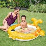 Бассейн интекс 57111 Золотая рыбка надувной детский intex