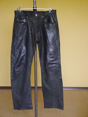 Брюки-Штани шкіряні на 32 євро розмір