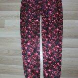 Шелковые брюки в пижамном стиле