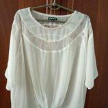 Пляжная блузка туника накидка