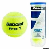 М'яч тенісний Babolat First, 4шт