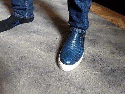 Кожаные туфли слипоны Nando Muzi