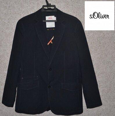 Ексклюзивний брендовий піджак чоловічий S. Oliver XL-XXL Німеччина мужской