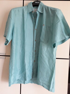 Шелковая шикарная рубашка тенниска футболка Gatsby Shirts
