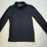 Гольф черного цвета фирмы M&S для девочки 8 лет рост 128см