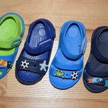 Пляжні босоніжки на хлопчика пінка р.24-29 босоножки пляжные крокси пенка кроксы