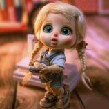Чудесные малыши. Милейшие создания. BJD кукла. Bru Gloomy, 18cm Island Doll. Кукла Бжд
