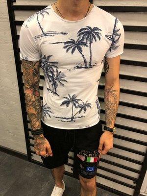 Стильная мужская футболка 2 цвета s-m-l-xl-xxl