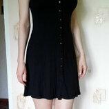 Мягкое, летнее платье, на пуговицах, натуральное вискоза 96% , платье-халат George