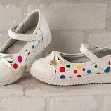 Новые туфельки-балетки р. 32-37 2 цвета