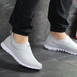 Кроссовки летние Nike Free Run 3.0 light gray