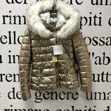 Золотая куртка пуховик Италия Наличие