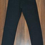Новое поступление Школа Стильные коттоновые брюки на евро-резинке р.122-152