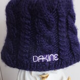 зимняя шерстяная мохеровая вязанная шапка Dakine Сша р. 55-59