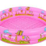 Надувной бассейн Intex D25651. Дитячий басейн. Надувний басейн для дітей.