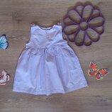 Хорошенькое батистовое платье-сарафан