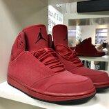 Стильные красные оригинальные кроссовки