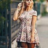 Коттоновое платье