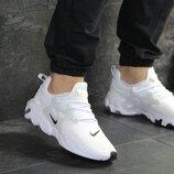 Как оригинал. Кроссовки Nike Presto React белые KS 1098
