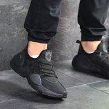 Бесплатная доставка. Качество топ. Кроссовки Nike Air Huarache E.D.G.E черные KS 1103