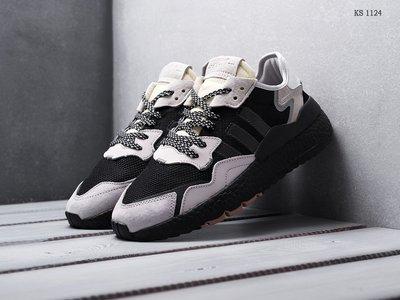Топ качество. Стильные Кроссовки Adidas Nite Jogger серые KS 1124