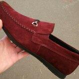 Style Tommy Hilfiger Мужские бордовые замшевые туфли