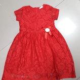 Красивое платье Breeze р.122, 128, 134, 140, 146, 152