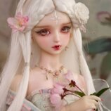 1/3 BJD Doll, SD Hua Rong girl. 62 cm. Коллекционная бжд кукла. Сказочная фея. Прелестная девочка.